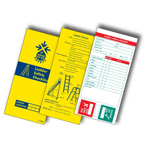 Good to Go Safety™ Ladders Check Book