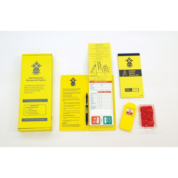 Good to Go Safety™ Ladders Annual (Weekly) Inspection Kits