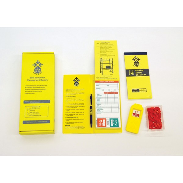 Good to Go Safety™ Racking Annual (Weekly) Inspection Kits