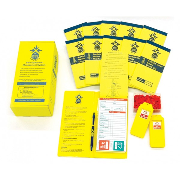 Good to Go Safety™ Scaffold Towers Annual (Daily) Inspection Kits