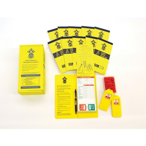 Good to Go Safety™ Ladders Annual (Daily) Inspection Kits