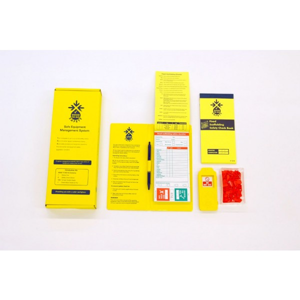 Good to Go Safety™ Fixed Scaffold Annual (Weekly) Inspection Kits