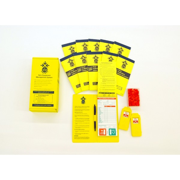 Good to Go Safety™ Fixed Scaffold Annual (Daily) Inspection Kits