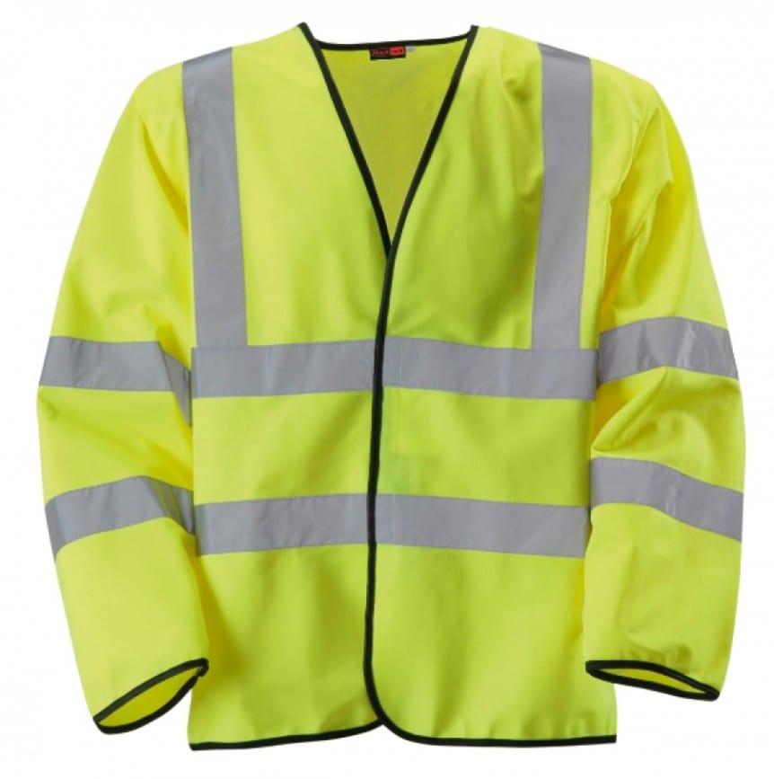 long sleeve high vis