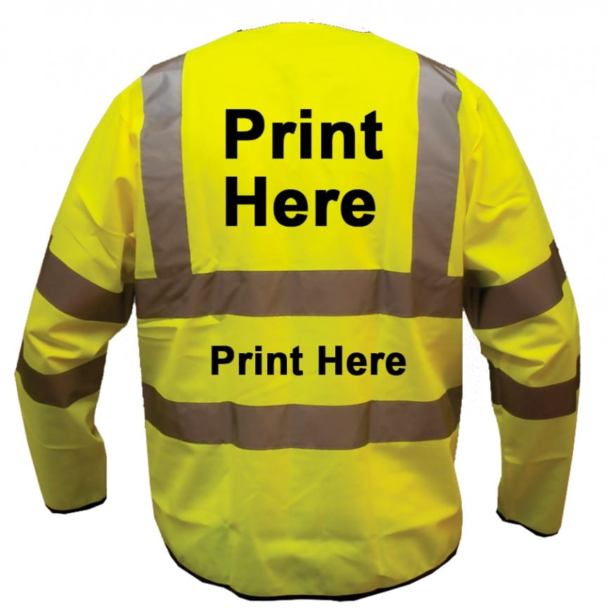 rear print long sleeved